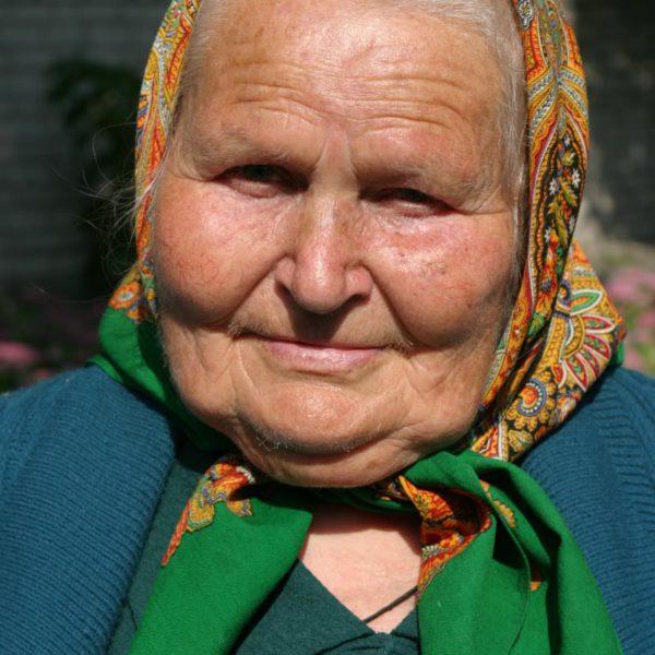 Старая баба фото