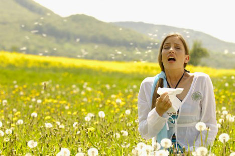 Весенняя аллергия. Как справиться?