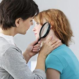 Аллергия в виде пятен